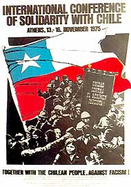 International conference of solidarity with Chile