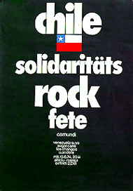 Chile solidaritäts rock fete. - Alemania (RFA)